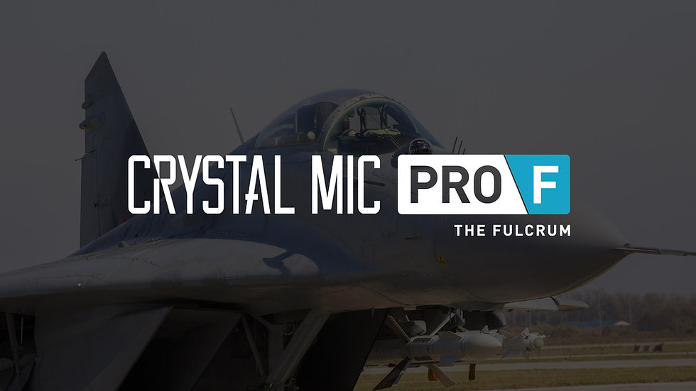 Crystal Mic Pro F (The Fulcrum)
