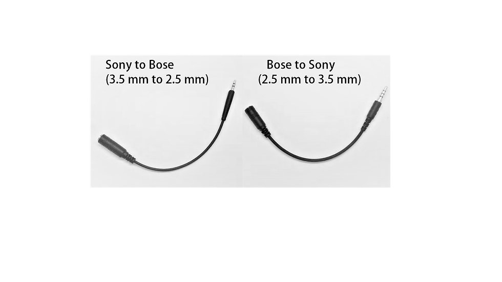 Headphone adapter cable