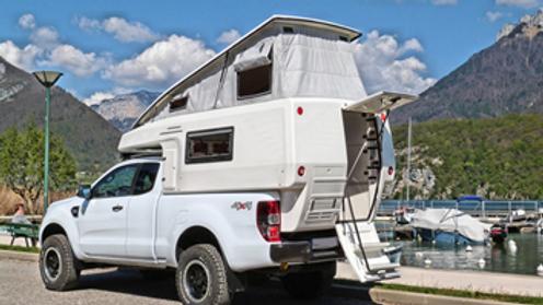 Desert Overlander Camel for Mid Size Trucks