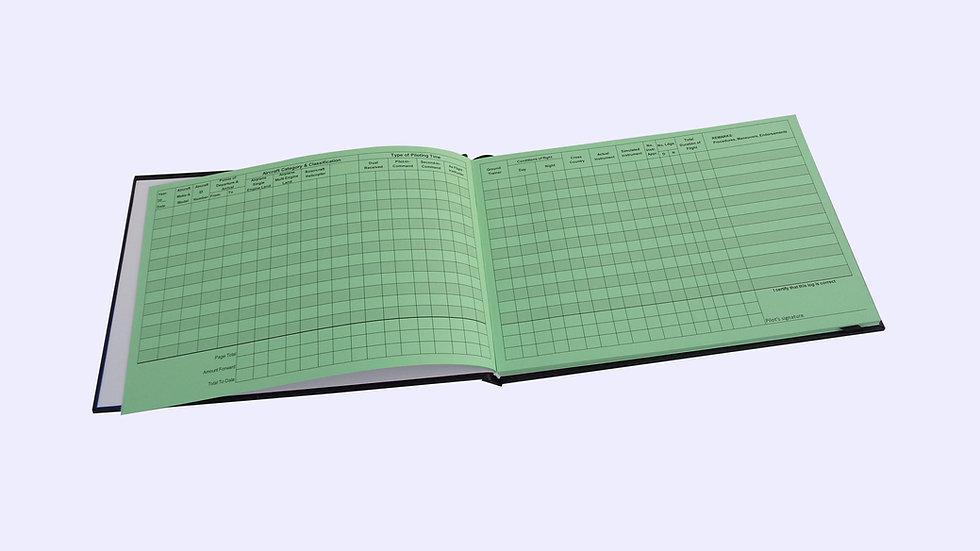 Pilot Log Book and VFR-IFR Placard