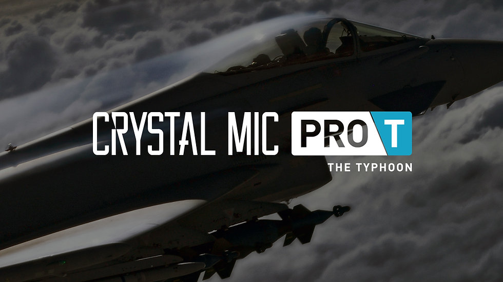 Crystal Mic Pro T ( The Typhoon)