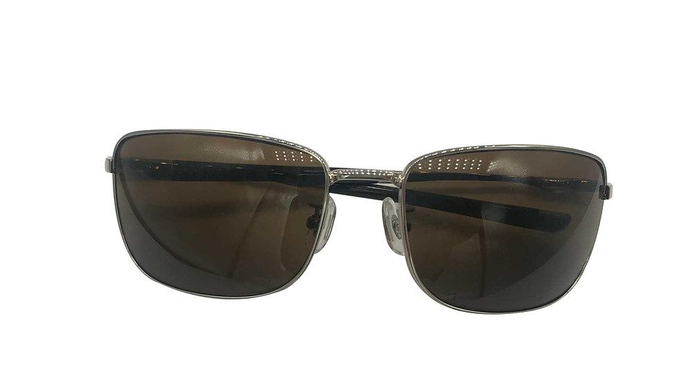 Crystal Sky Titanium Aviator Sunglasses