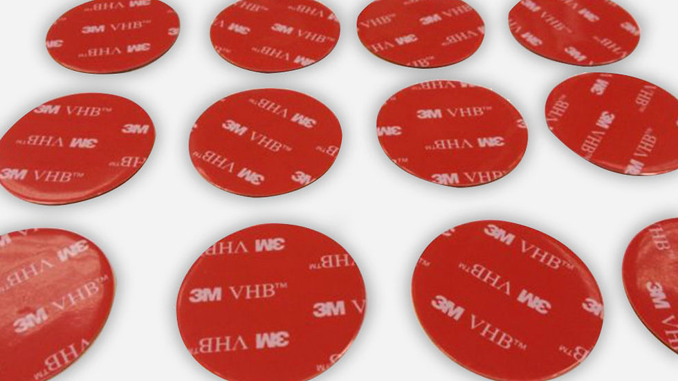 3M VHB 20mm diameter circle (set of 10)