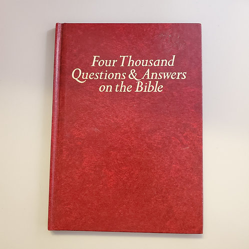 Four Thousand Questions & Answers on the Bible