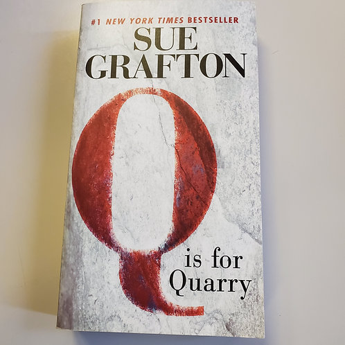 """Q"" Is For Quarry"