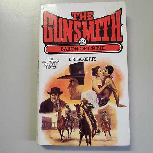 The Gunsmith 223: Baron of Crime