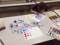 Watercoloring Art