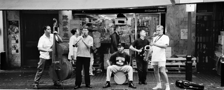 Queens Park Quintet, China town, London
