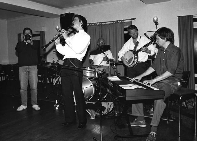 Clunnog Fawr 1987, Bill Henderson, Duncan Walter, Gwyn Evans, Neil Hopkins