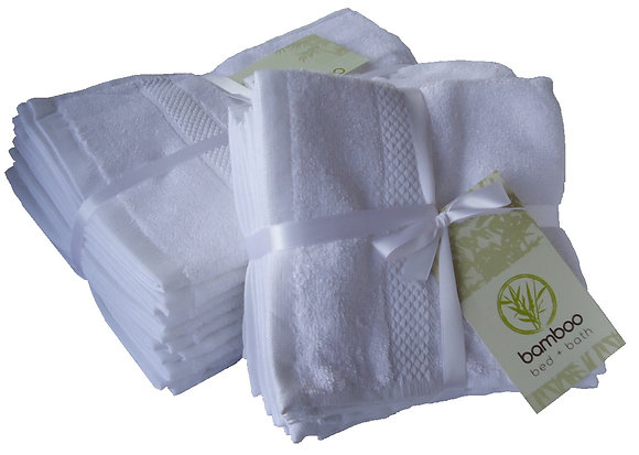 Bamboo Hand Towels - Pack of 10