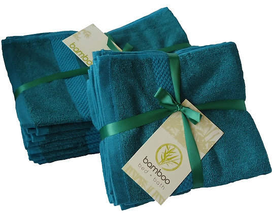 Bamboo Face Towels - Pack of 10