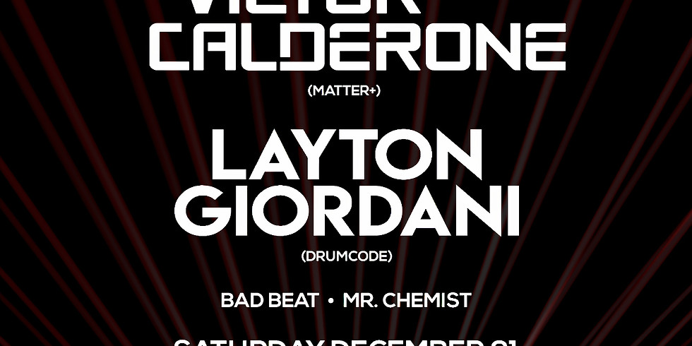 Victor Calderone & Layton Giordani