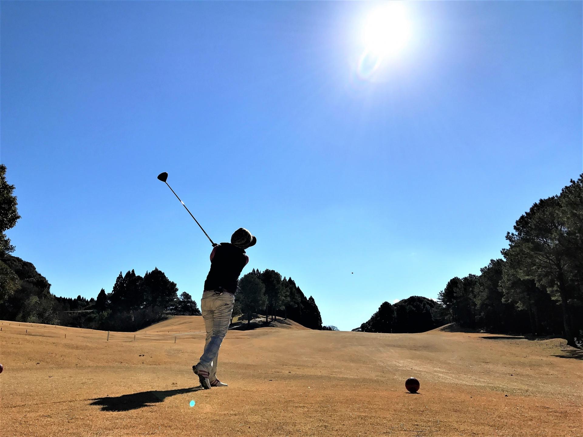 ゴルフで心も体もリフレッシュ!