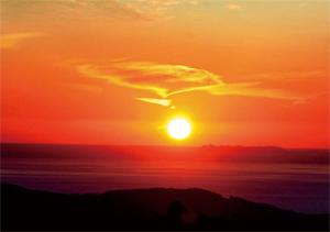 Hill in Evening Sun