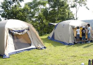 キャンプサイト(25区画)