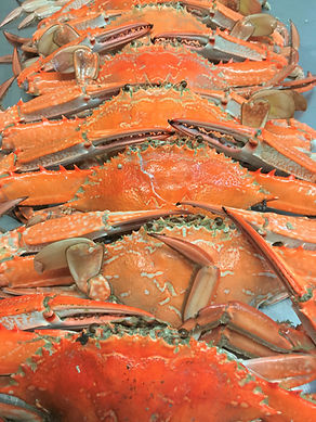 Fresh Cooked Crabs