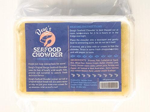 Doug's Famous Seafood Chowder