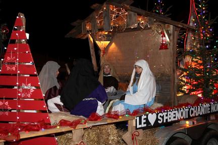 Parade de Noël, Amqui