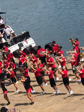 Battle of the Bands - Big Red Marching Band