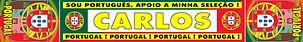 Cachecol Portugal Personalizado - Loja da personalização