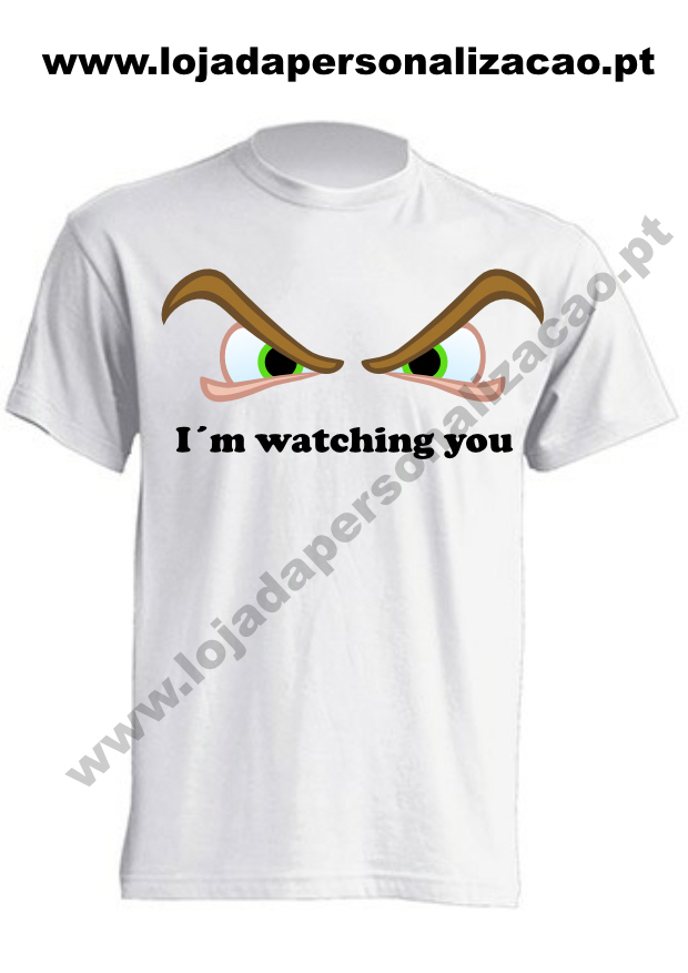 T-shirt_tocar_i´m_watching_you