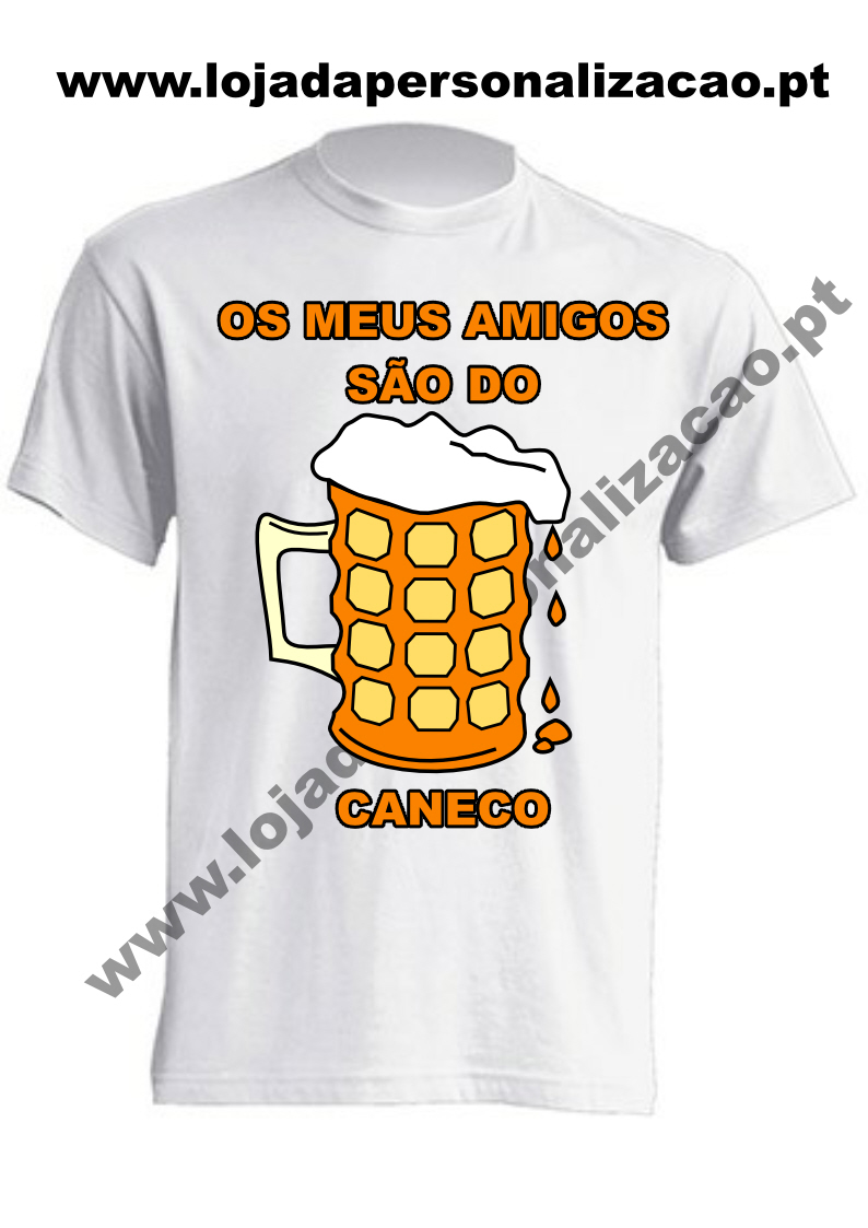 T-Shirts Amigos do Caneco