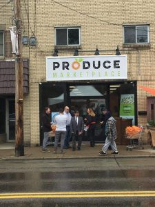 Grand Opening of Produce Marketing on October 27, 2018.
