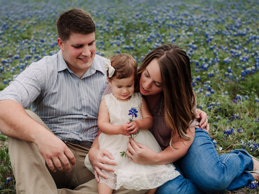Kuhl Family Bluebonnet Session