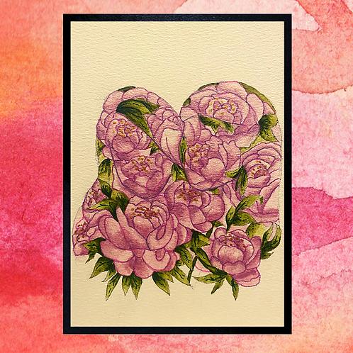 Favourite Flower Silhouette