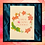 Thumbnail: Floral Wreath Print
