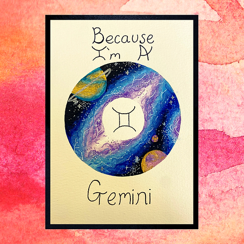 Star Sign Galaxy Painting