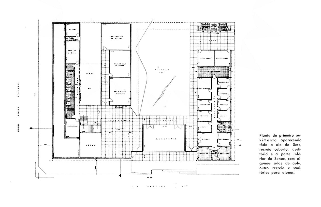 edifício SESC - SENAC (marília)