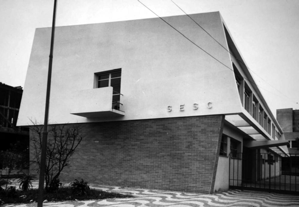 edifício SESC - SENAC (santos)