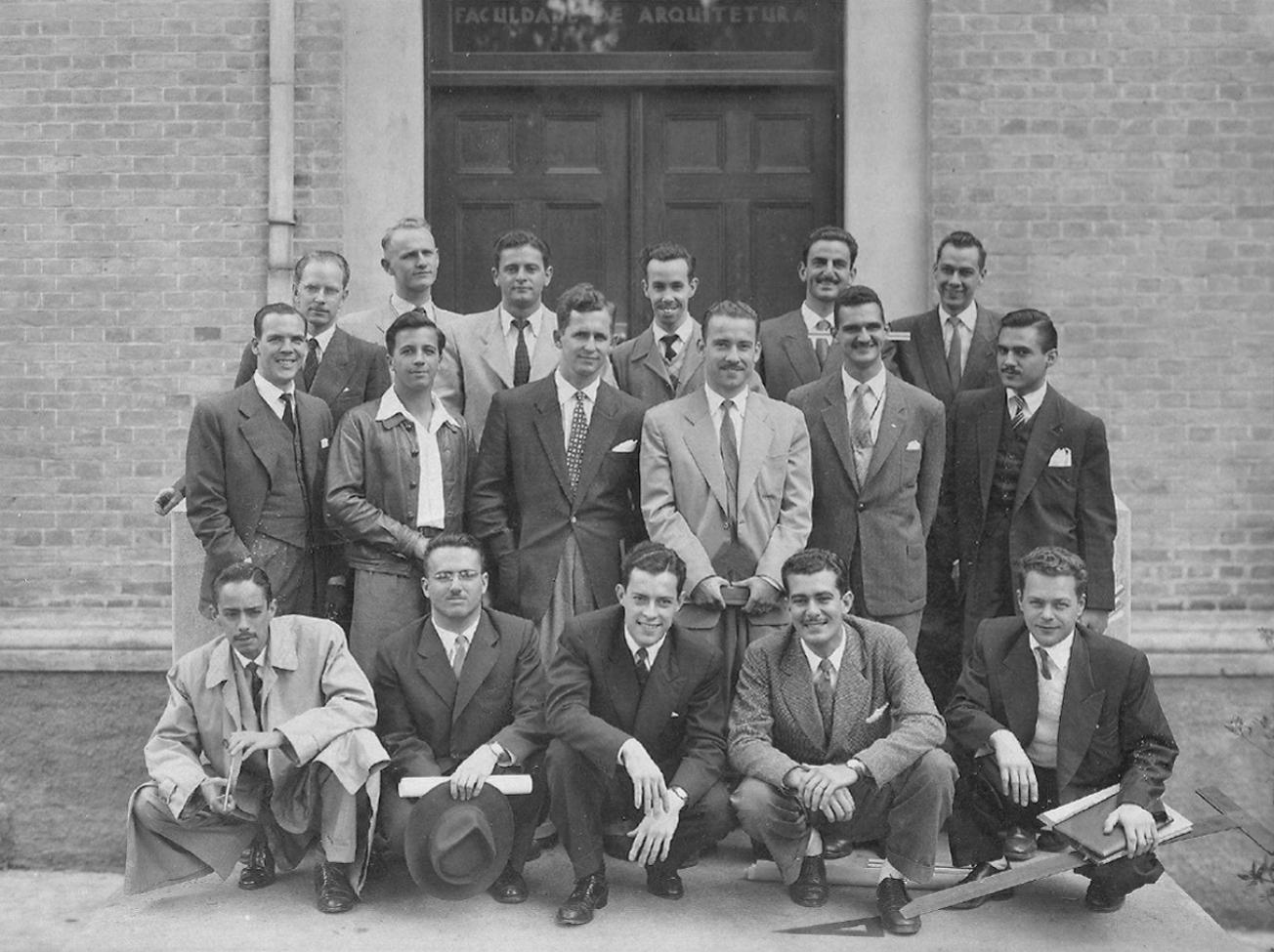 Formandos da Faculdade de Arquitetura Mackenzie