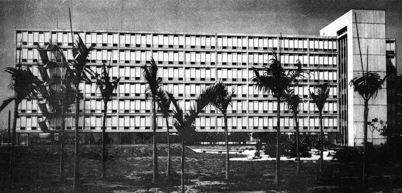 conjunto residencial da USP