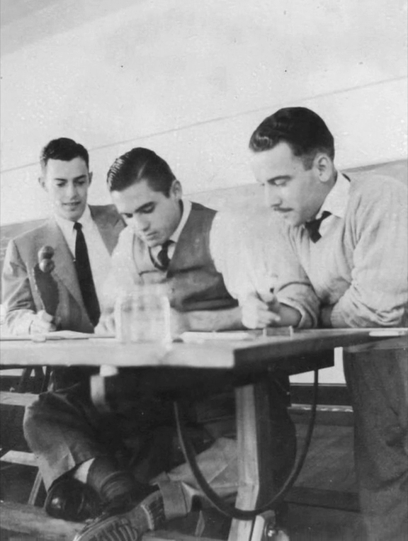José Carlos de Souza Maia, Carlos Lemos e Marino Barros