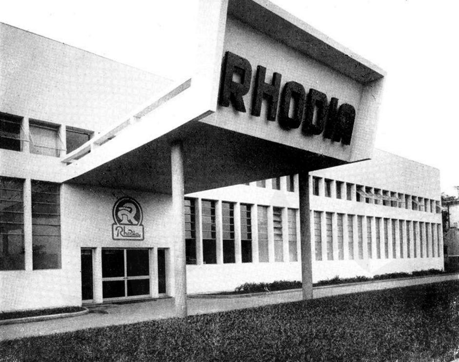 fábrica rhodia