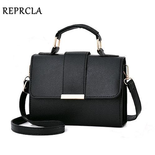 REPRCLA 2020 Summer Fashion Women Bag Leather Handbags PU Shoulder Bag Small Fla