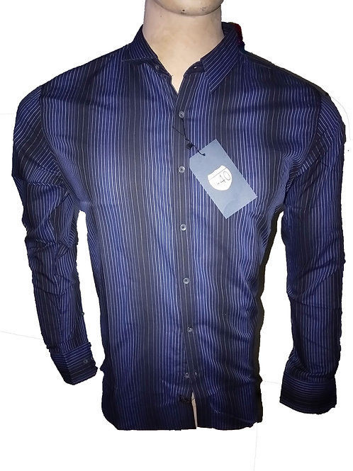 TOP QUALITY COTTON LINE STYLE FORMAL SHIRT FOR MEN