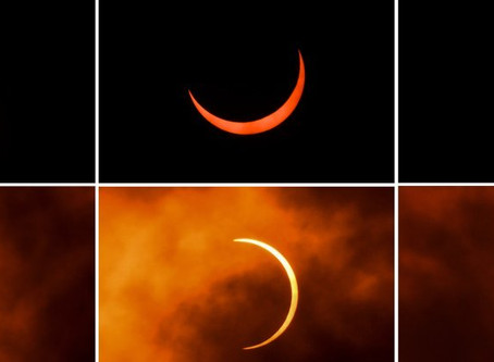 MUST SEE | 'Ring of fire' solar eclipse thrills sky watchers