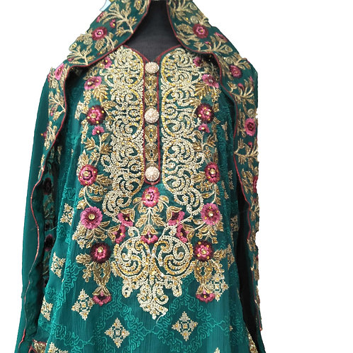STUNNING GHARARA DRESS