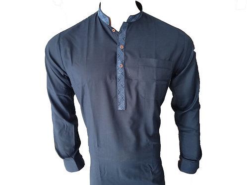 H. Kameez Shalwar Suit for Men