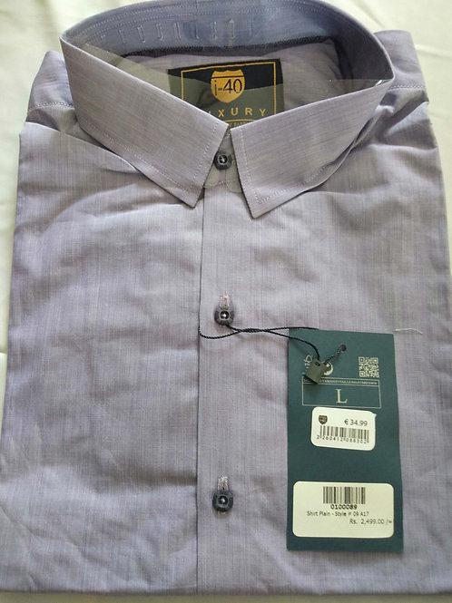 TOP QUALITY COTTON PLAIN STYLE FORMAL SHIRT FOR MEN