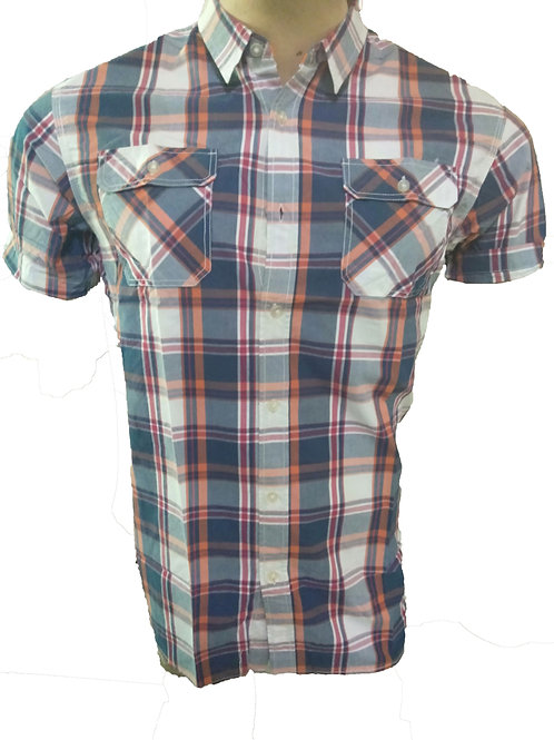TOP QUALITY COTTON CHECK STYLE FORMAL