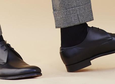 Men's Fashion Basics - Part - Trouser, Socks & Shoes Combinations.