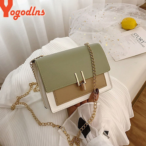 YogodlnsNew Small Flap Crossbody Bags for Women 2020 Summer PU Leather Shoulder