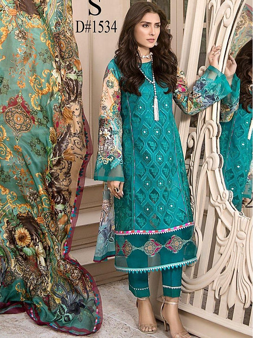 NOOR BY SADIA ASAD LUXURY LAWN COLLECTION