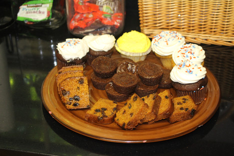 Sweets for after worship