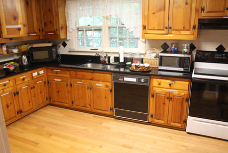 Our renovated kitchen