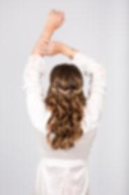 Novia peinado